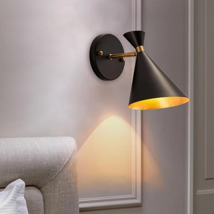 home wall lighting. Name: Vintage Industrial Wall Lamp Home Lighting
